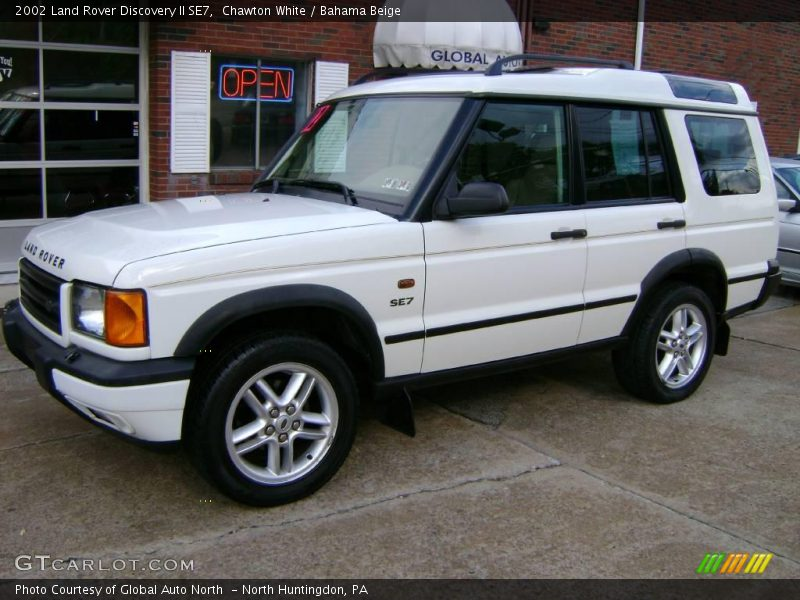 2002 land rover discovery ii se7 in chawton white photo no 6396385. Black Bedroom Furniture Sets. Home Design Ideas