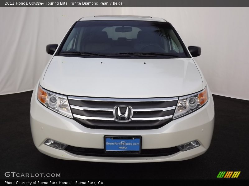 2012 honda odyssey touring elite in white diamond pearl photo no 63974321. Black Bedroom Furniture Sets. Home Design Ideas