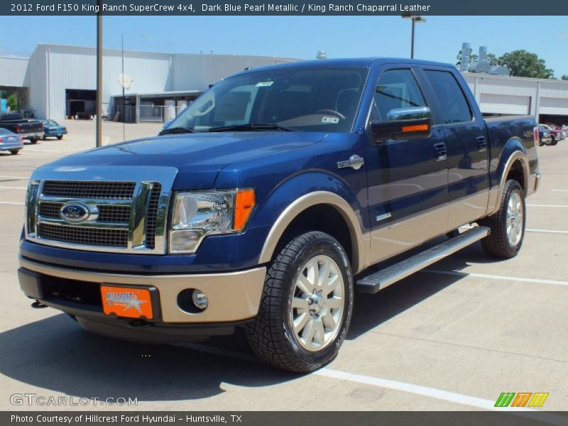 2012 ford f150 king ranch supercrew 4x4 in dark blue pearl metallic photo no 63980016. Black Bedroom Furniture Sets. Home Design Ideas