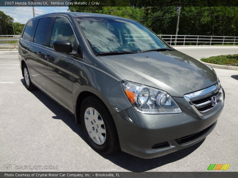 2007 honda odyssey lx in nimbus gray metallic photo no. Black Bedroom Furniture Sets. Home Design Ideas