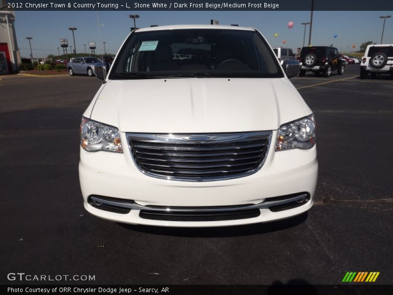 2012 chrysler town country touring l in stone white for Stone s town country motors