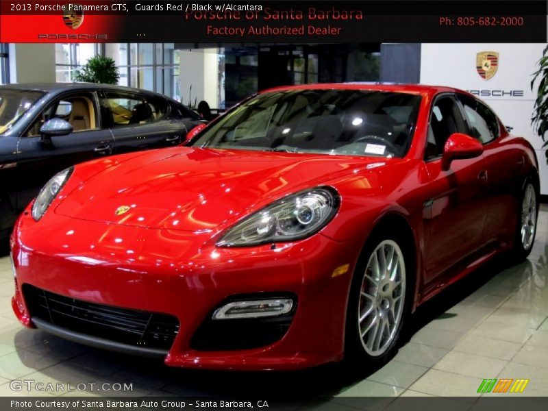 Guards Red / Black w/Alcantara 2013 Porsche Panamera GTS