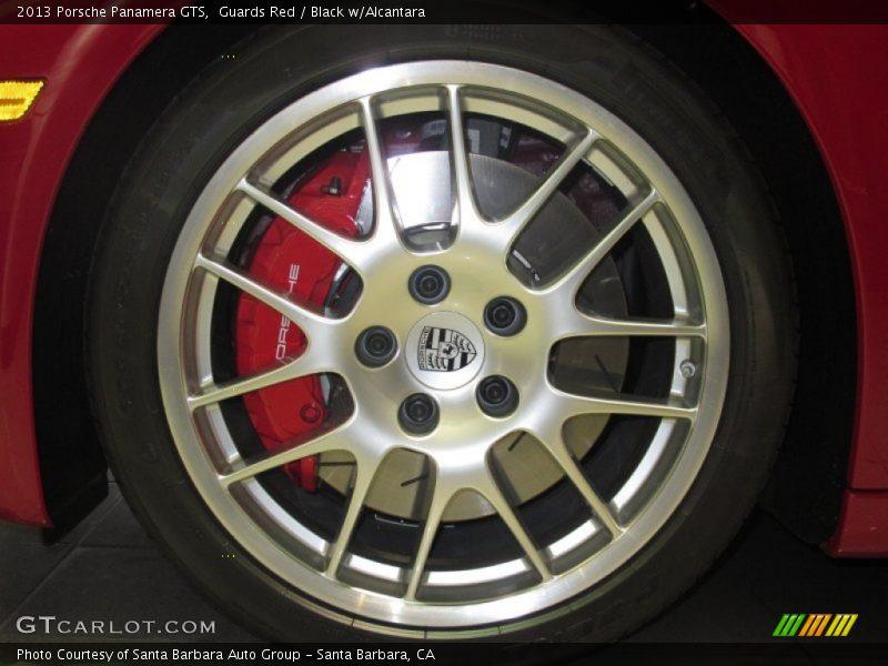 2013 Panamera GTS Wheel