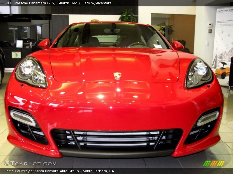 2013 Panamera GTS Guards Red