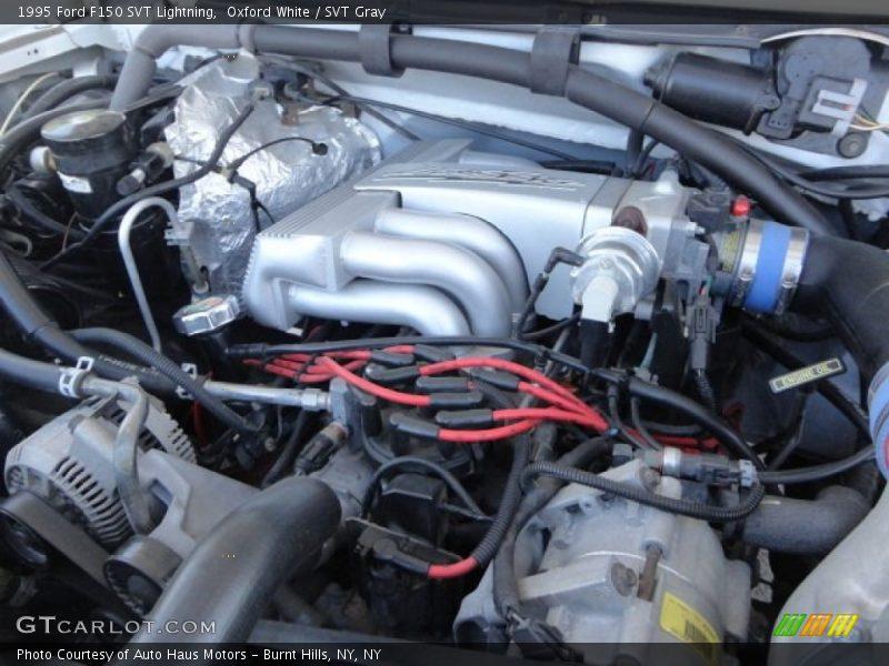 1996 Ford Lightning Specs >> 1995 F150 SVT Lightning Engine - 5.8 Liter Supercharged OHV 16-Valve V8 Photo No. 64362497 ...