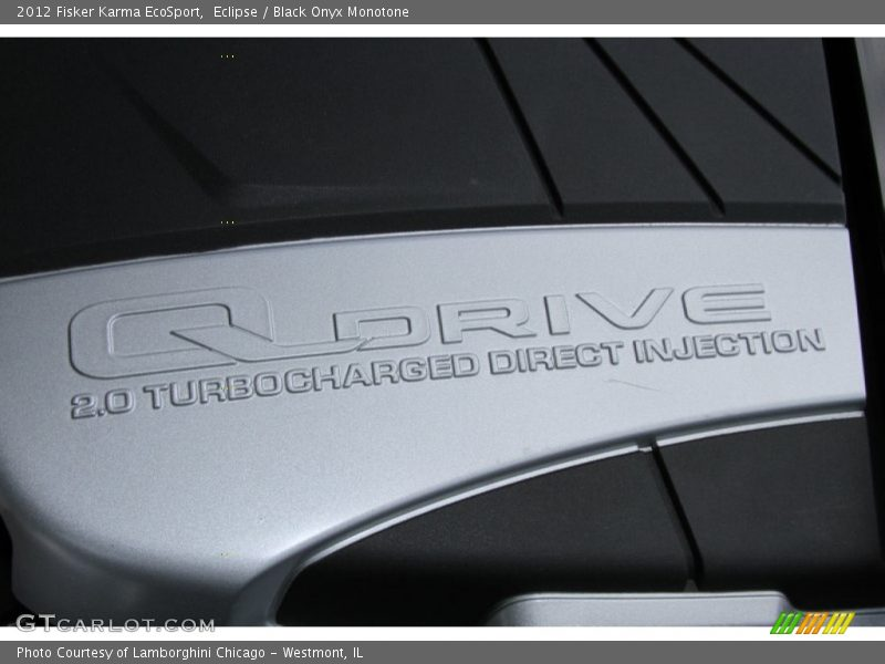 2012 Karma EcoSport Engine - 2 x 479ft-lbs Plug-In Electric Motor/2.0 Liter DFI Turbocharged DOHC 16-Valve VVT 4 Cylinder Range Extending