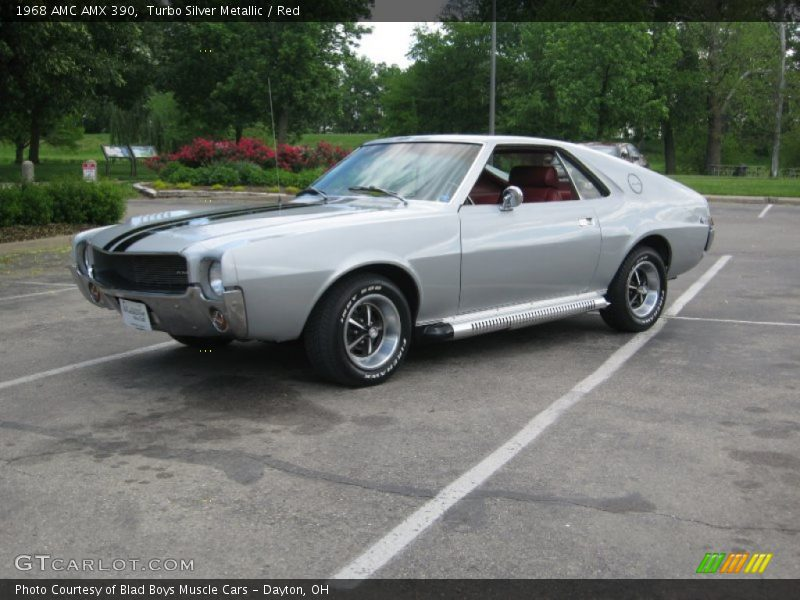 Front 3/4 View of 1968 AMX 390