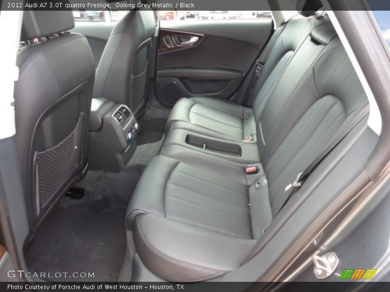 rear seat of 2012 a7 3 0t quattro prestige photo no. Black Bedroom Furniture Sets. Home Design Ideas