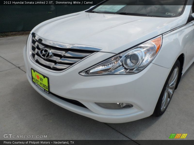 2013 hyundai sonata limited 2 0t in shimmering white photo no 65245496. Black Bedroom Furniture Sets. Home Design Ideas
