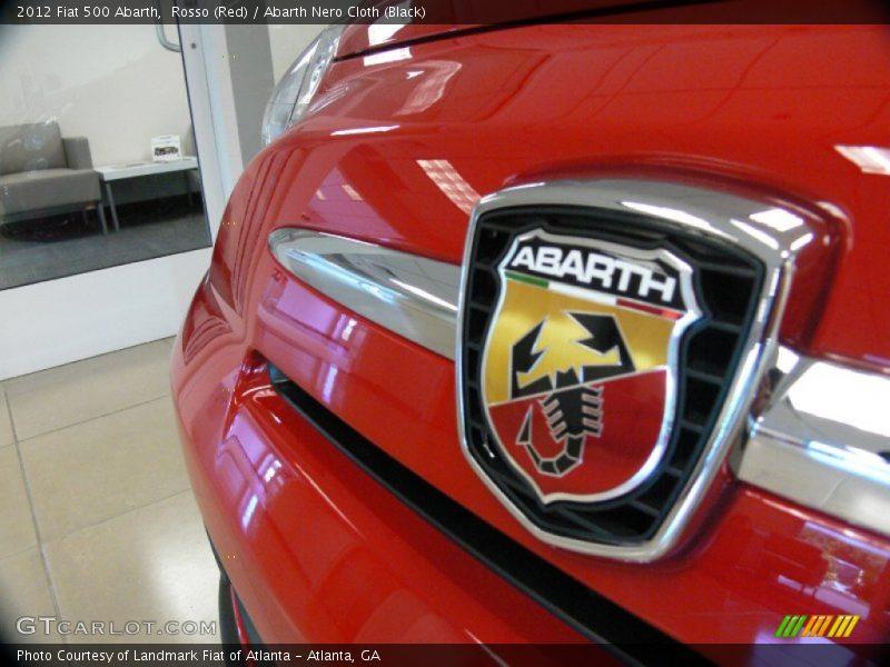 2012 500 Abarth Logo