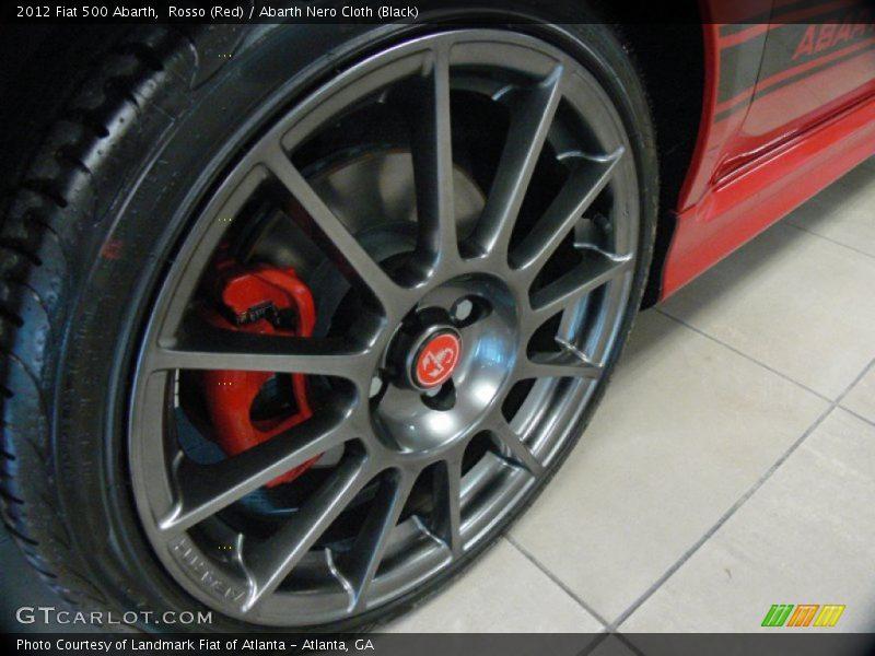 2012 500 Abarth Wheel