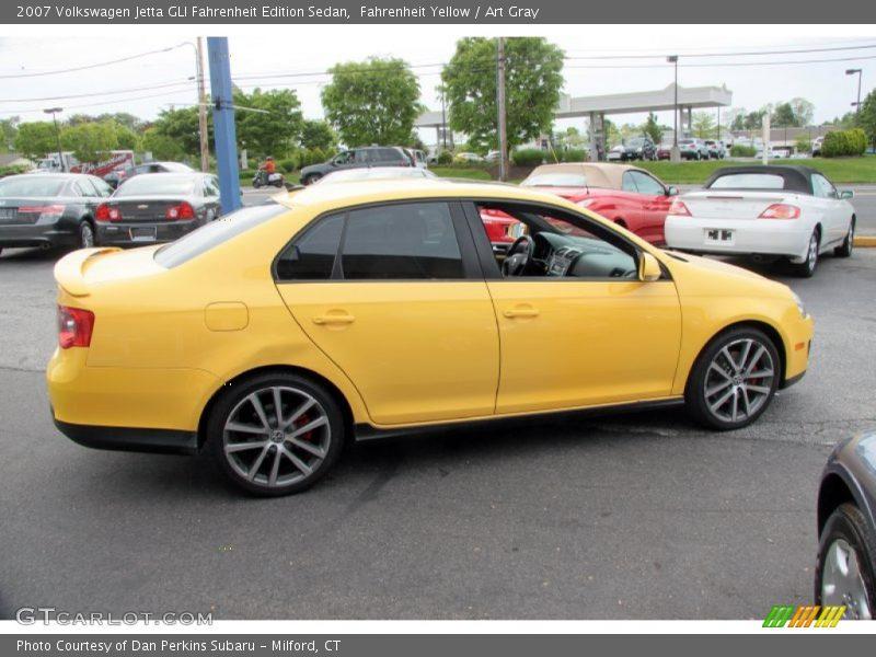 volkswagen jetta gli fahrenheit edition sedan  fahrenheit yellow photo