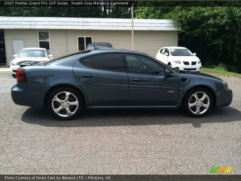 2007 pontiac grand prix gxp sedan in stealth gray metallic photo no 65413797. Black Bedroom Furniture Sets. Home Design Ideas