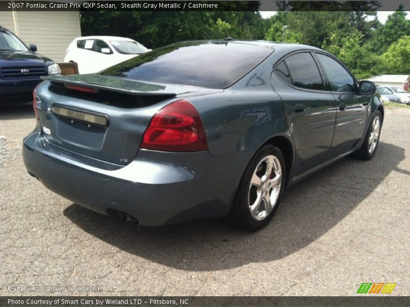 2007 pontiac grand prix gxp sedan in stealth gray metallic photo no 65413809. Black Bedroom Furniture Sets. Home Design Ideas