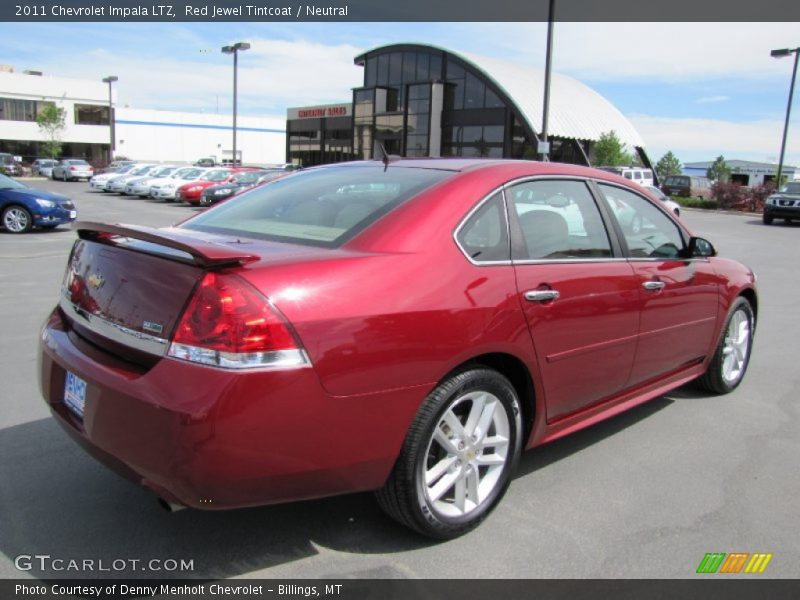2011 chevrolet impala ltz in red jewel tintcoat photo no 65619258. Black Bedroom Furniture Sets. Home Design Ideas
