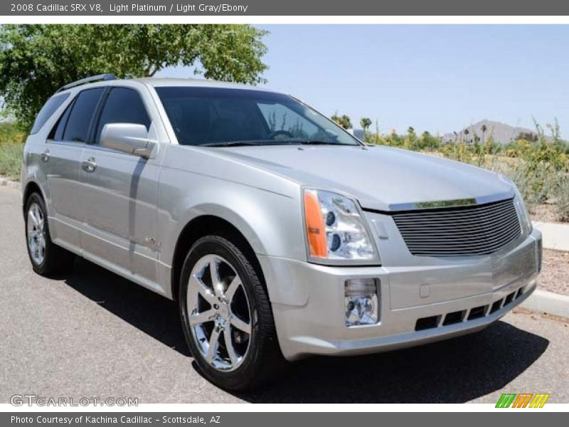 Light Platinum / Light Gray/Ebony 2008 Cadillac SRX V8