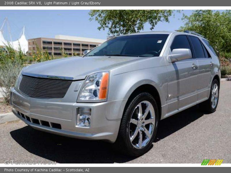 Light Platinum / Light Gray/Ebony 2008 Cadillac SRX V8