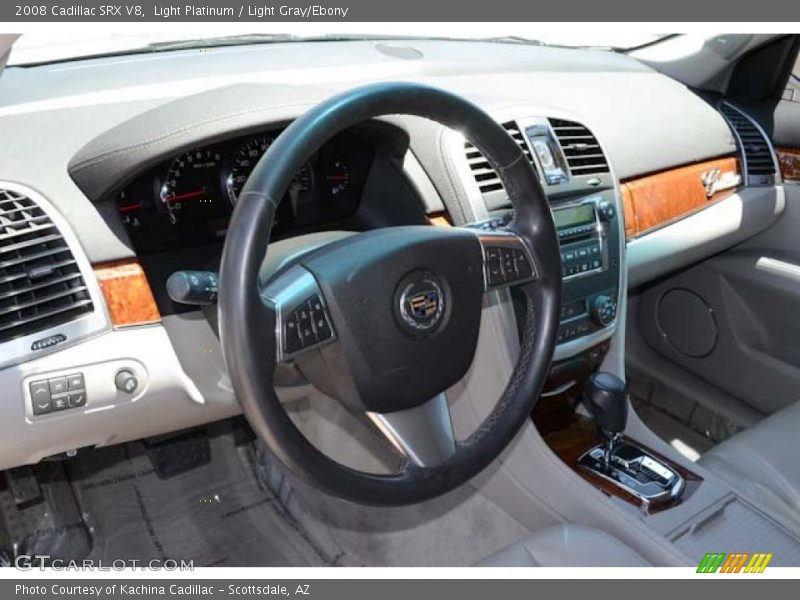 Dashboard of 2008 SRX V8