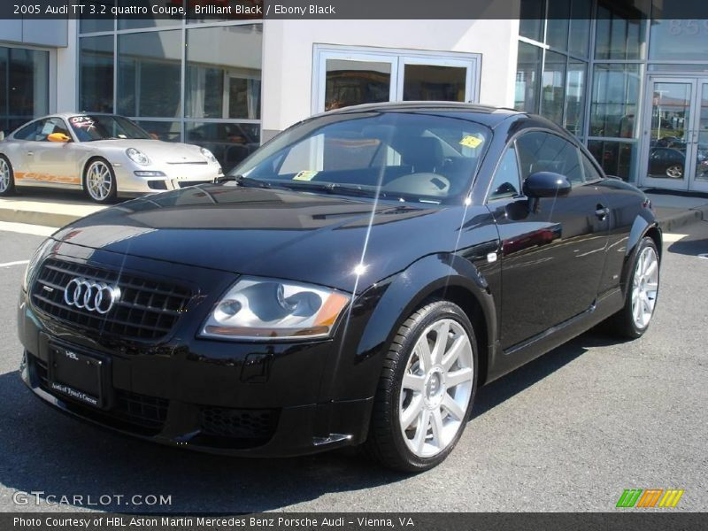 2005 audi tt 3 2 quattro coupe in brilliant black photo no. Black Bedroom Furniture Sets. Home Design Ideas