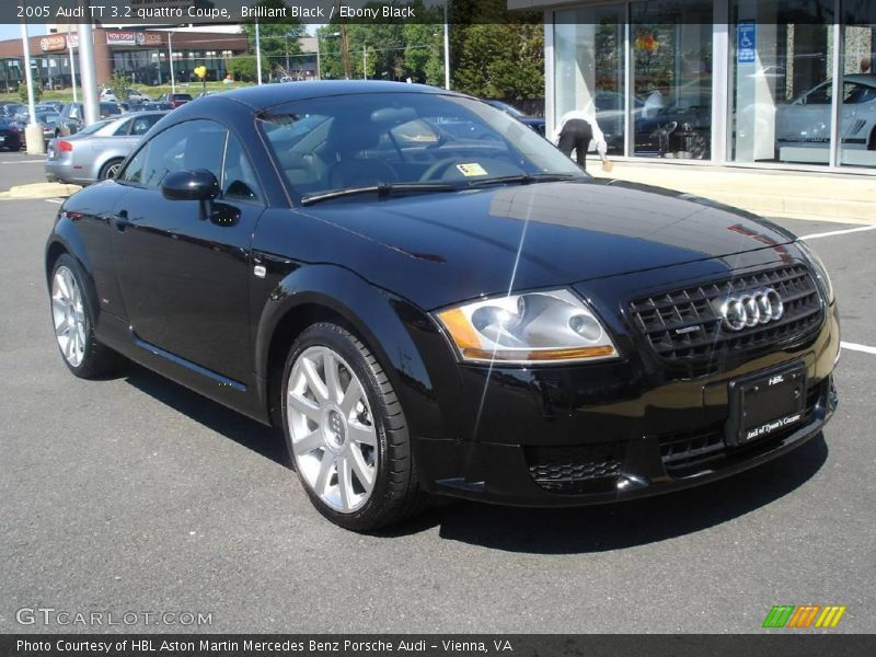 2005 audi tt 3 2 quattro coupe in brilliant black photo no 6576136. Black Bedroom Furniture Sets. Home Design Ideas