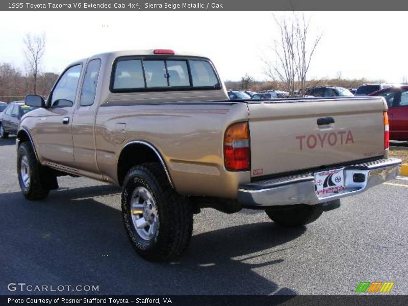 1995 toyota tacoma v6 extended cab 4x4 in sierra beige metallic photo no 6582838. Black Bedroom Furniture Sets. Home Design Ideas