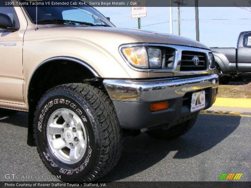 1995 toyota tacoma v6 extended cab 4x4 in sierra beige metallic photo no 6582933. Black Bedroom Furniture Sets. Home Design Ideas