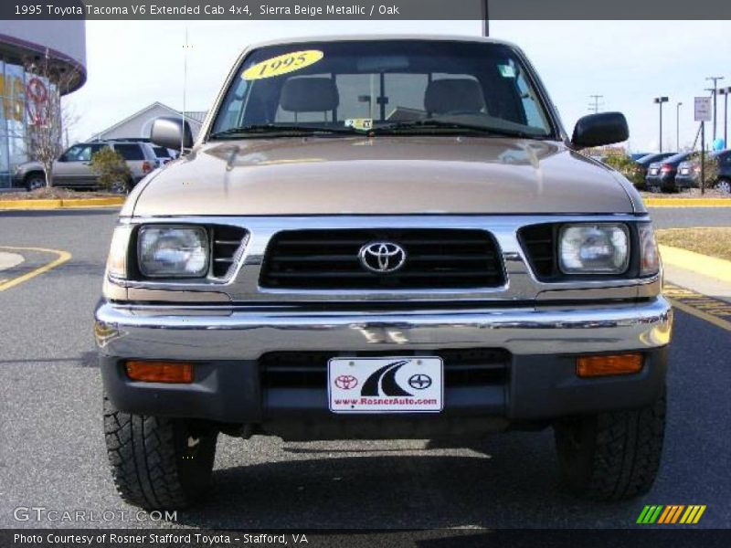 1995 toyota tacoma v6 extended cab 4x4 in sierra beige metallic photo no 6582943. Black Bedroom Furniture Sets. Home Design Ideas
