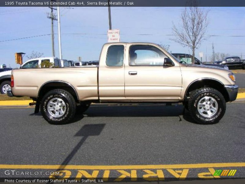 1995 toyota tacoma v6 extended cab 4x4 in sierra beige metallic photo no 6582953. Black Bedroom Furniture Sets. Home Design Ideas