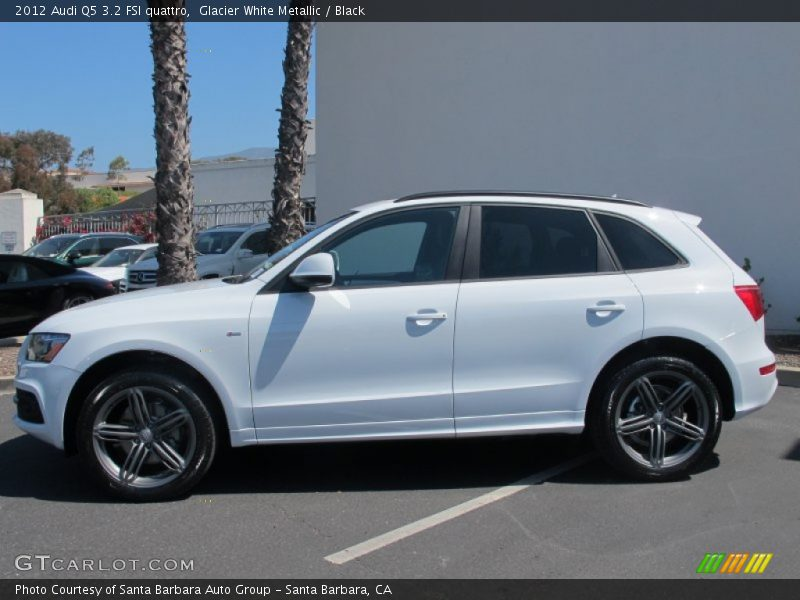 2012 Audi Q5 3 2 Fsi Quattro In Glacier White Metallic