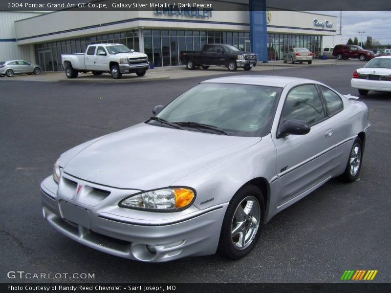 2004 pontiac grand am gt coupe in galaxy silver metallic photo no 6613501. Black Bedroom Furniture Sets. Home Design Ideas