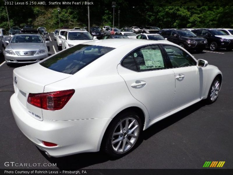 2012 Lexus Is 250 Awd In Starfire White Pearl Photo No