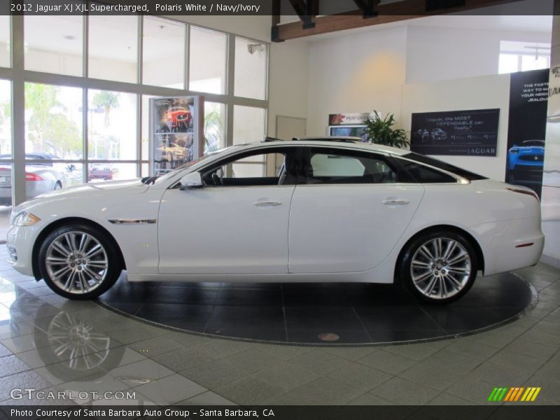 2012 jaguar xj xjl supercharged in polaris white photo no. Black Bedroom Furniture Sets. Home Design Ideas