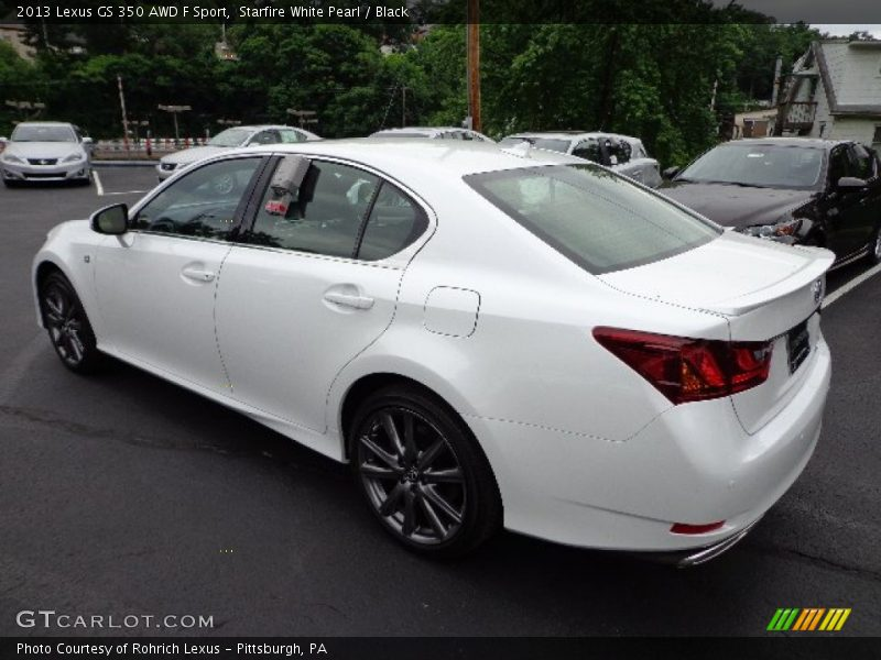 2013 lexus gs 350 awd f sport in starfire white pearl. Black Bedroom Furniture Sets. Home Design Ideas