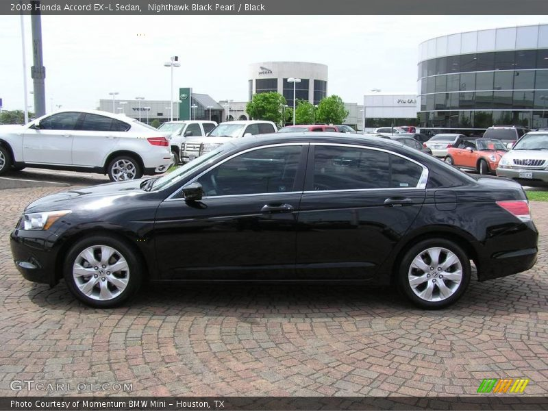 2008 honda accord ex l sedan in nighthawk black pearl. Black Bedroom Furniture Sets. Home Design Ideas