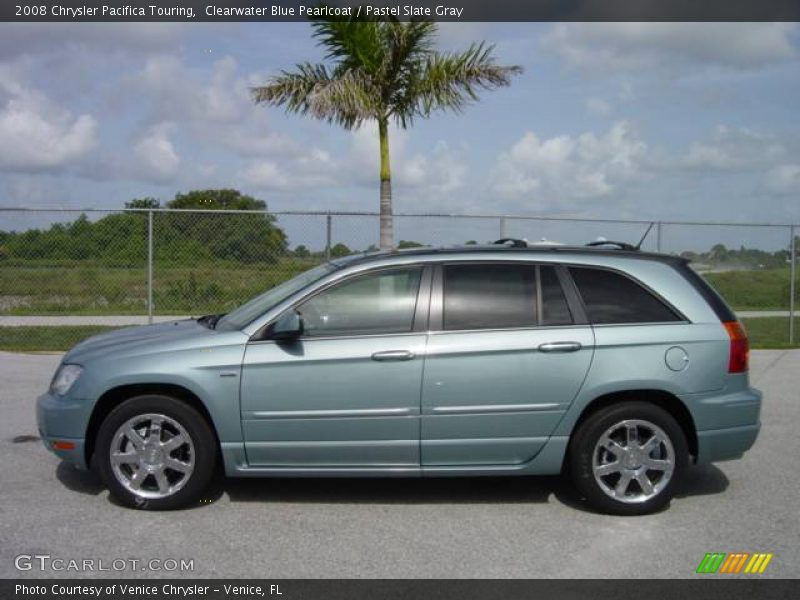 2008 chrysler pacifica touring in clearwater blue. Black Bedroom Furniture Sets. Home Design Ideas