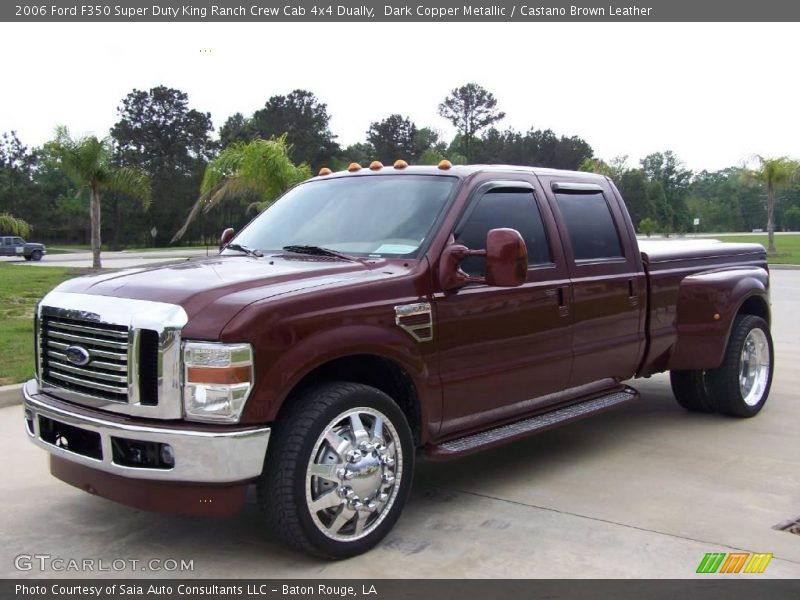 2006 f350 super duty king ranch crew cab 4x4 dually dark. Black Bedroom Furniture Sets. Home Design Ideas