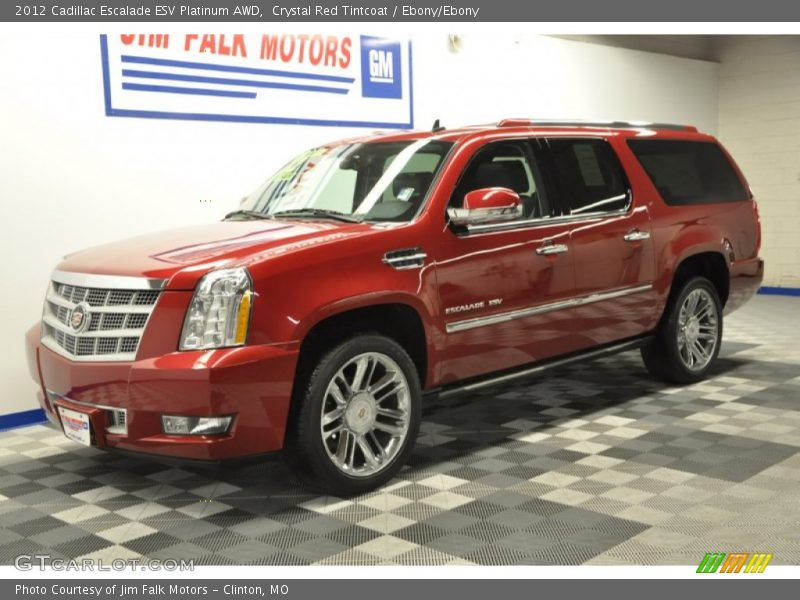 2012 cadillac escalade esv platinum awd in crystal red. Black Bedroom Furniture Sets. Home Design Ideas