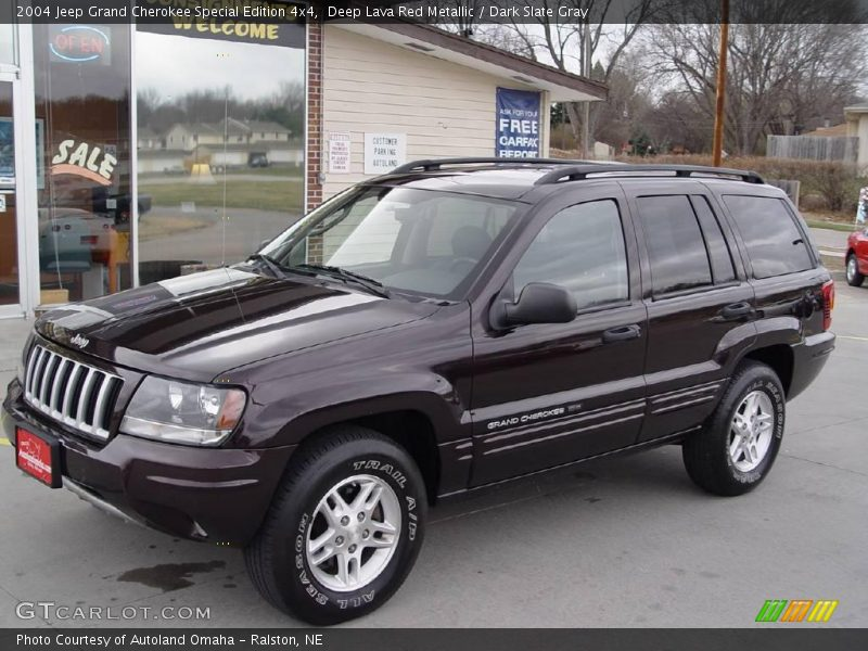 2004 jeep grand cherokee special edition 4x4 in deep lava red metallic photo no 6725194. Black Bedroom Furniture Sets. Home Design Ideas
