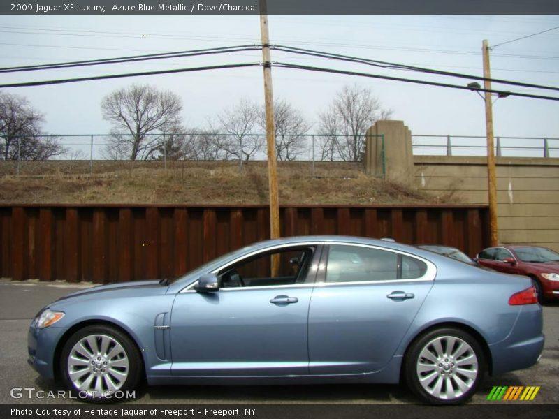 2009 XF Luxury Azure Blue Metallic