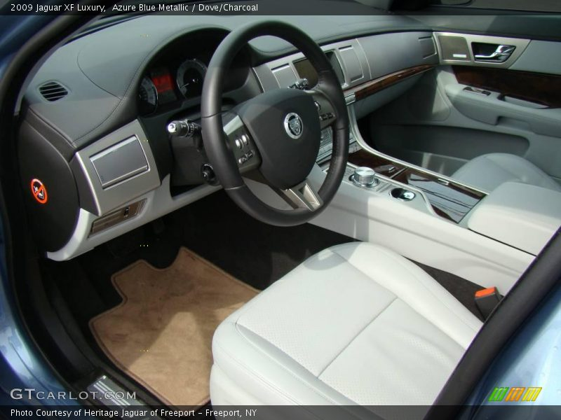 Dove/Charcoal Interior - 2009 XF Luxury