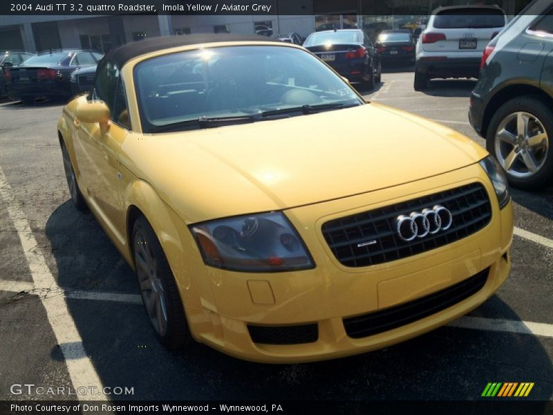2004 Audi Tt 3 2 Quattro Roadster In Imola Yellow Photo No