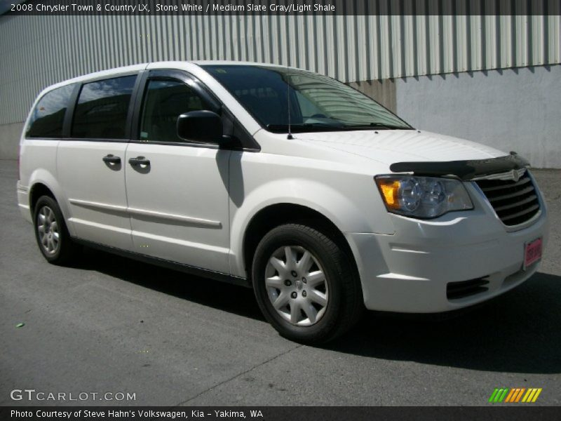 2008 chrysler town country lx in stone white photo no for Stone s town country motors