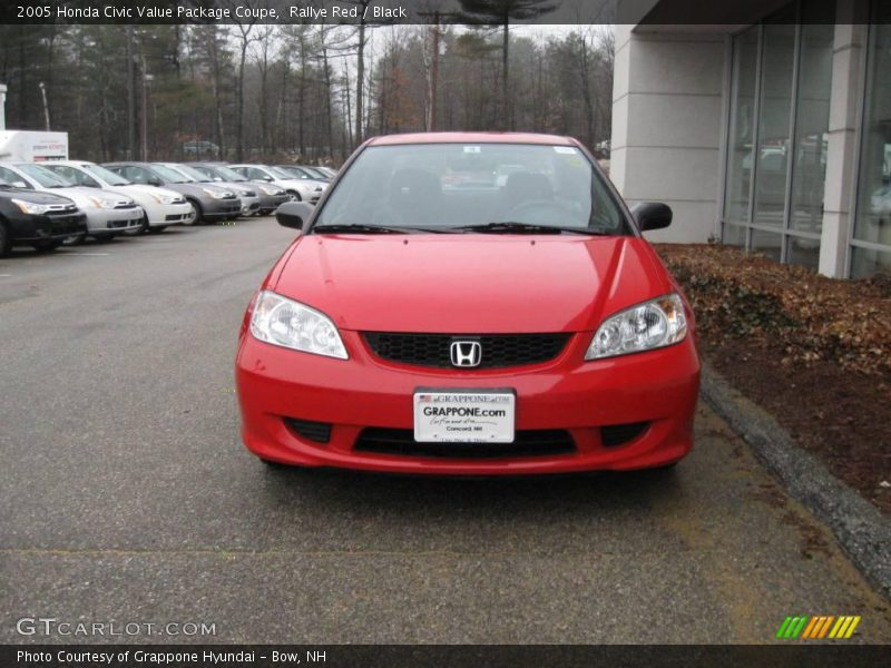 2005 honda civic value package coupe in rallye red photo no 6761515. Black Bedroom Furniture Sets. Home Design Ideas