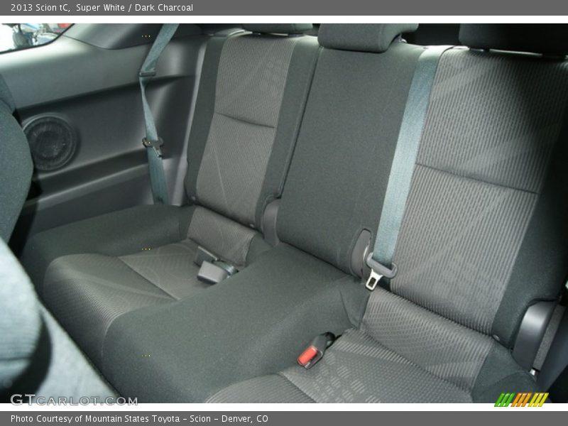 Rear Seat of 2013 tC