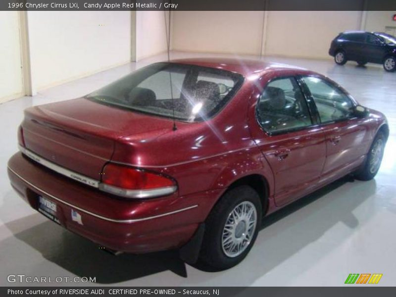 1996 Chrysler Cirrus LXi in Candy Apple Red Metallic Photo No. 6780872 ...
