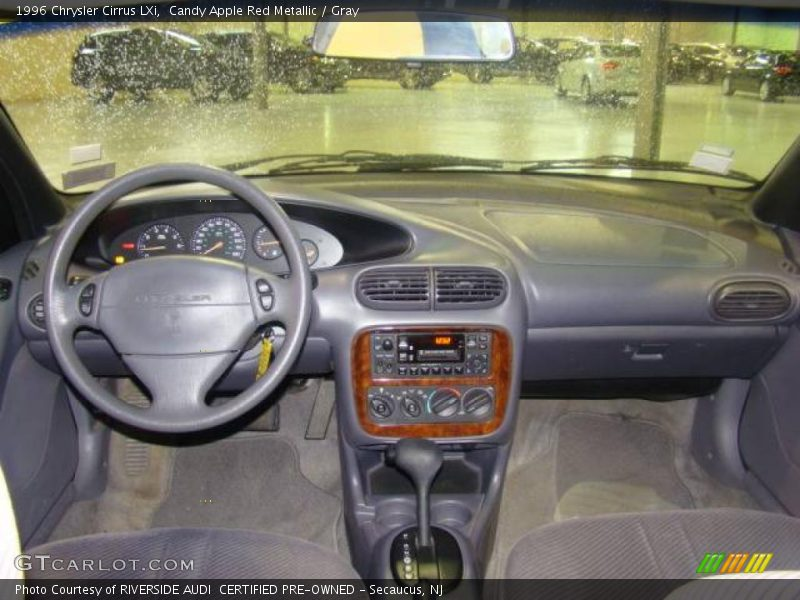 1996 Chrysler Cirrus LXi in Candy Apple Red Metallic Photo No. 6780882 ...