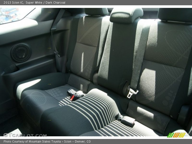 Rear Seat of 2013 tC