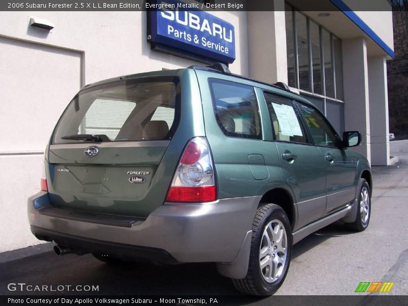 2006 subaru forester 2 5 x l l bean edition in evergreen metallic photo no 6783893. Black Bedroom Furniture Sets. Home Design Ideas