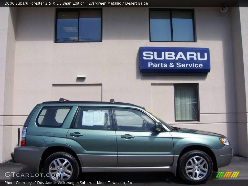 2006 subaru forester 2 5 x l l bean edition in evergreen metallic photo no 6783903. Black Bedroom Furniture Sets. Home Design Ideas
