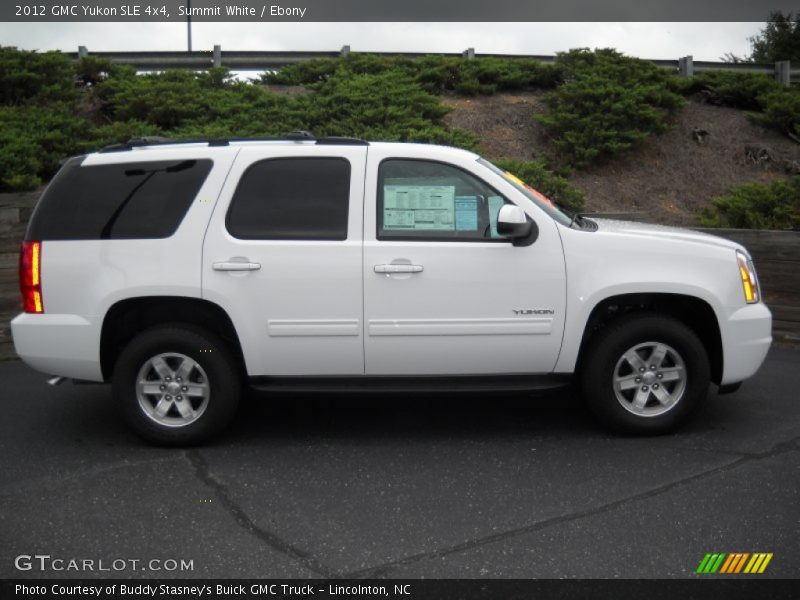 2012 Yukon SLE 4x4 Summit White